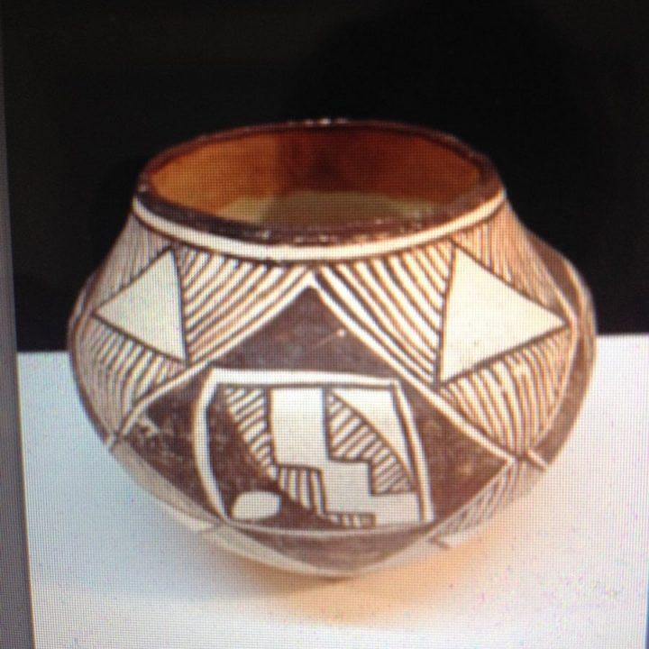 Handmade Navajo Indian Bowl (Starting Bid $1.00)
