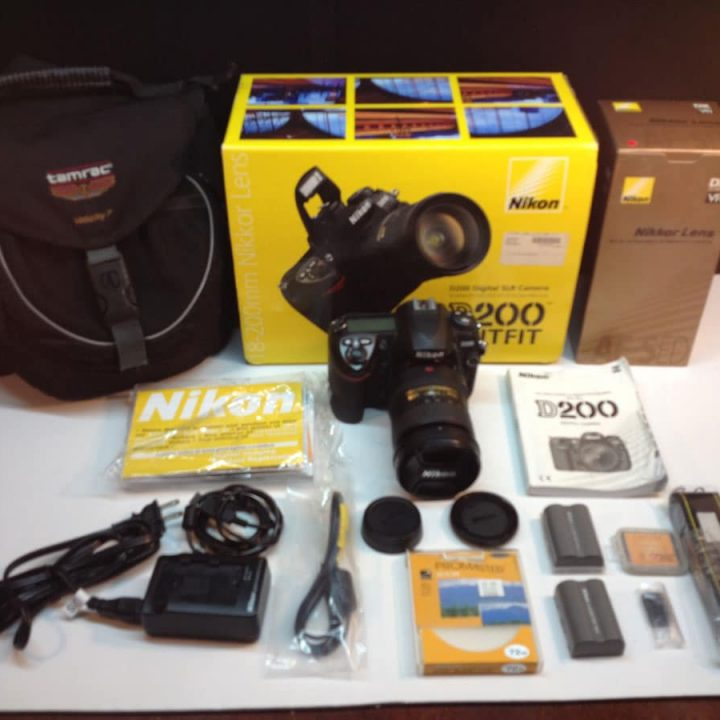 Nikon D200 Camera, Lens & Accessories