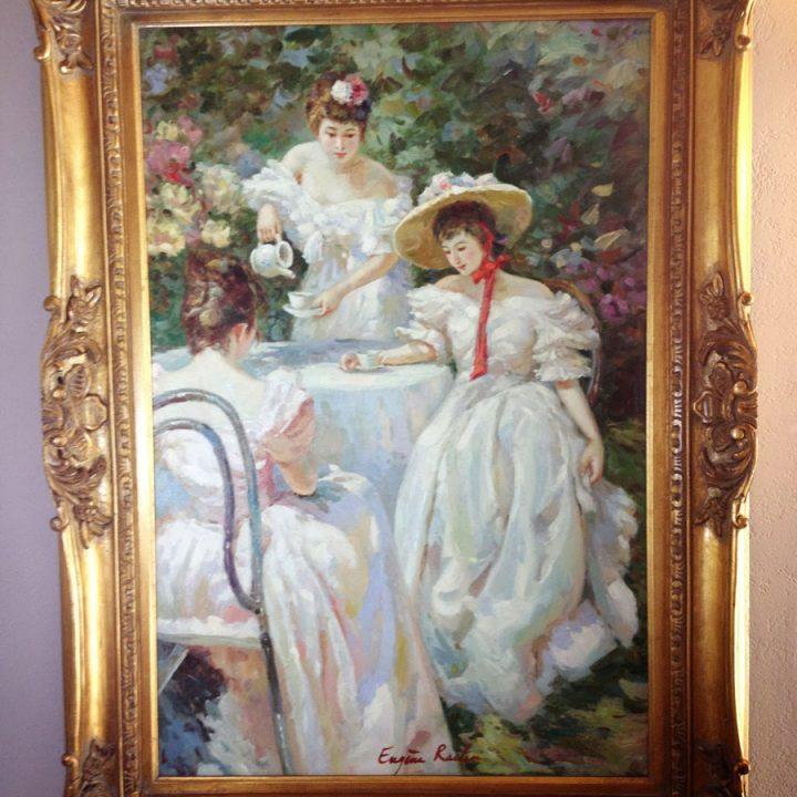 Victorian Ladies at Tea