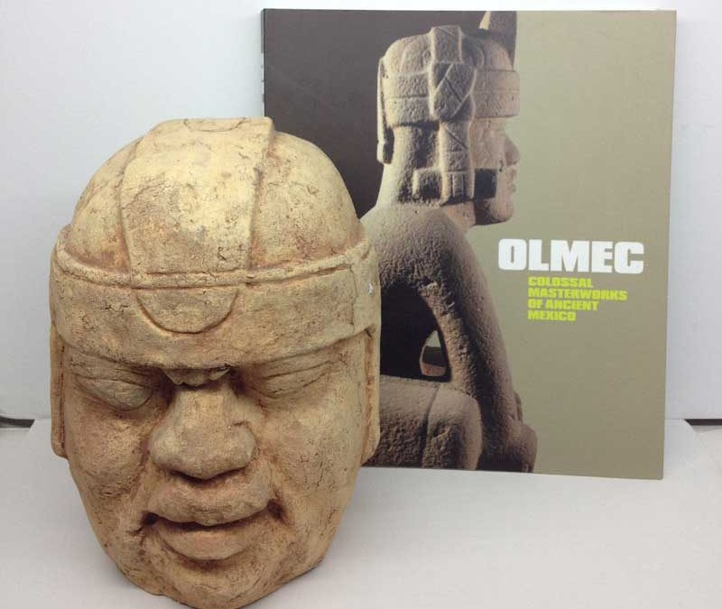 Olmec Mayan Colossal Head  Kellys Collectibles and Online Art