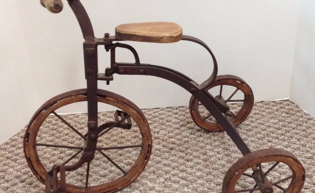 Antique Child S Tricycle Kelly S Collectibles And Online Art Gallery