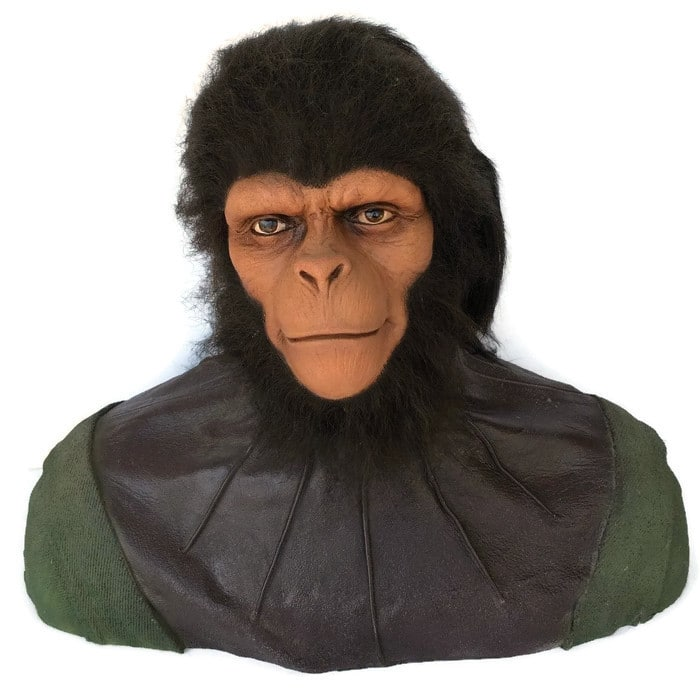 Life Size Planet of the Apes Dr. Milo Bust