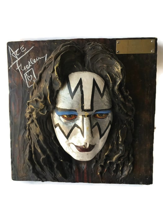 Ace Frehl KISS Band 3D Wall Sculpture #1 of 15,000