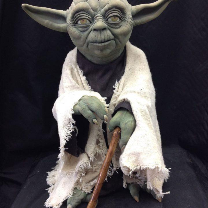 Prototype of Jedi Master Yoda from Star Wars