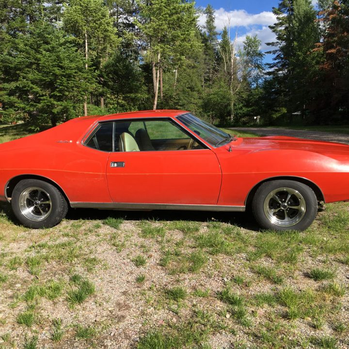 1972 AMC Javelin SST Classic Coupe Collector Muscle Car