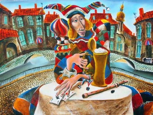Mug of Beer by Vladimir Vitkovsky