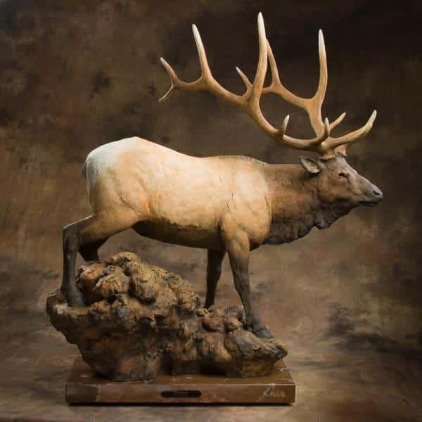 jack muir imperial bronze sculpture
