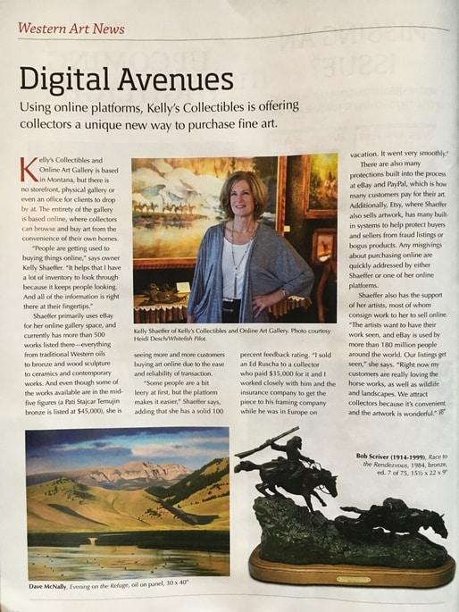Western Art Collector Article December 2019