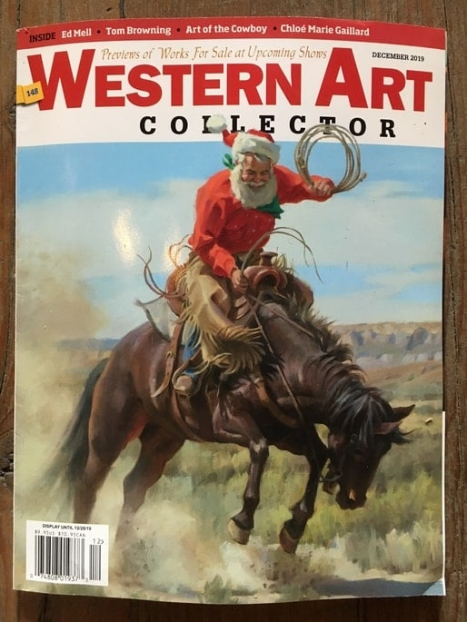 Western Art Collector Cover