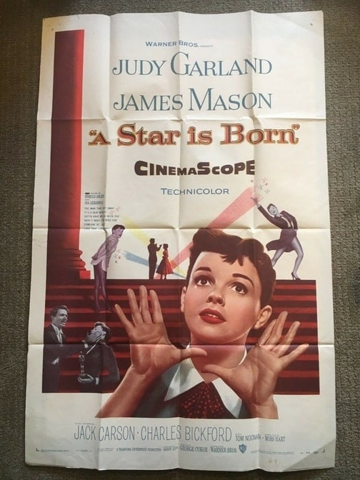 Judy Garland Star is Born Poster
