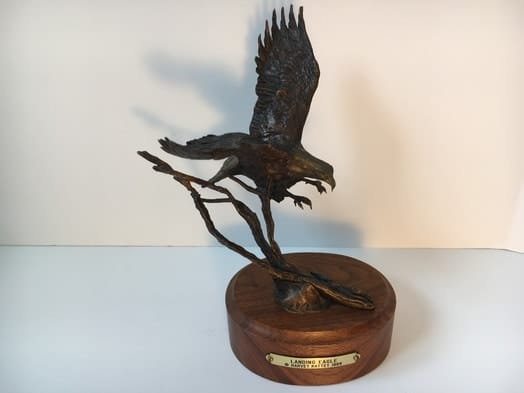 Harvey Rattey Landing Eagle