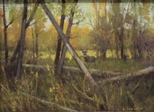 jerry-inman-sundance-lodge-buck-painting