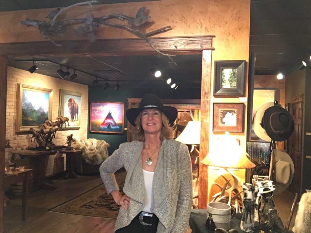 kelly shaeffer photo in art gallery