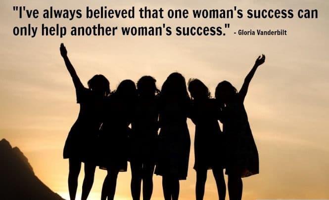 women empowerment quote gloria vanderbilt