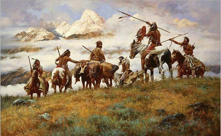 Howard Terpning Native American Giclee Print