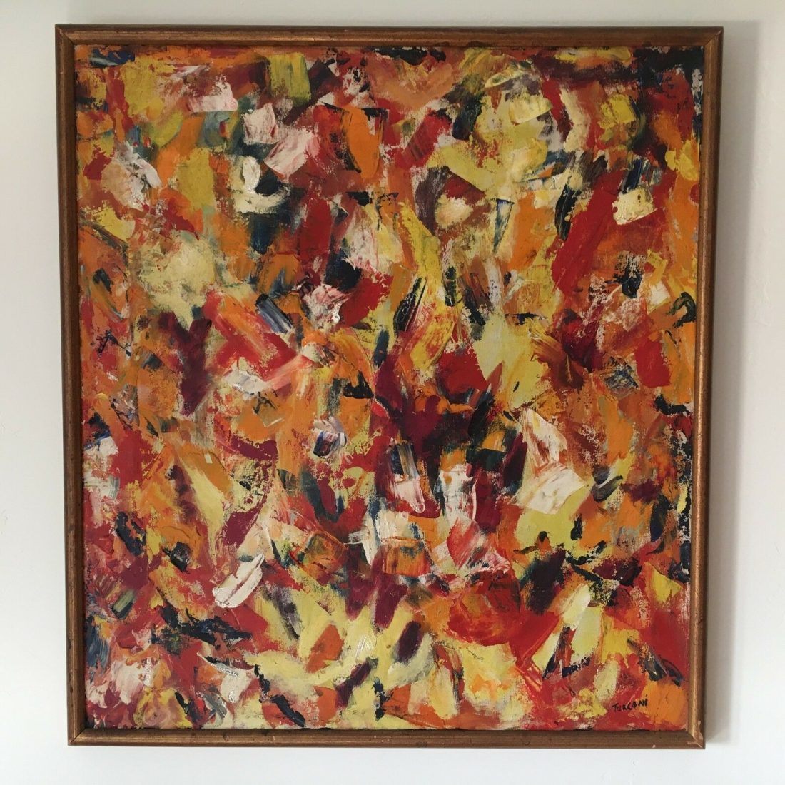 Sue Turconi Abstract contemporary oil painting