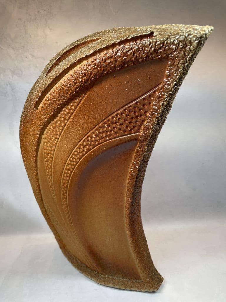joanne DeKeuster wood fired pottery sculpture