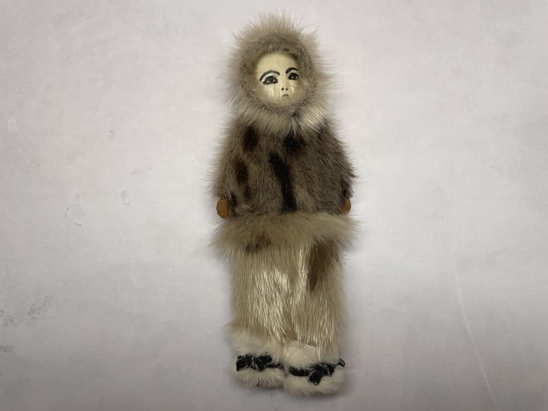 alaskan seal fur doll