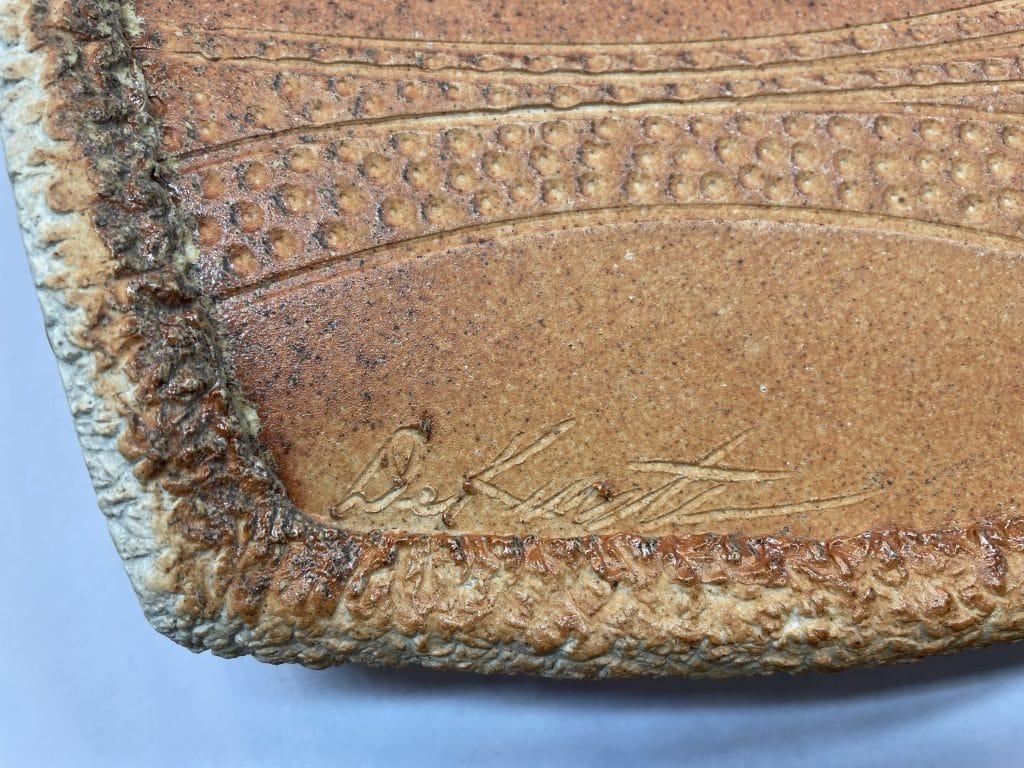 artist signature pottery sculpture
