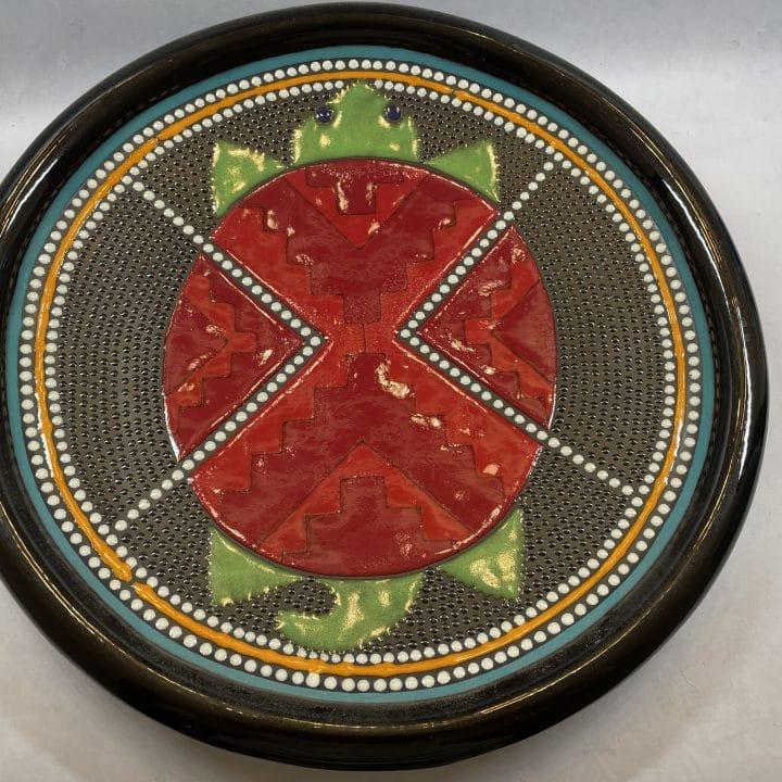 clay-mesa-geometric-native-american-platter