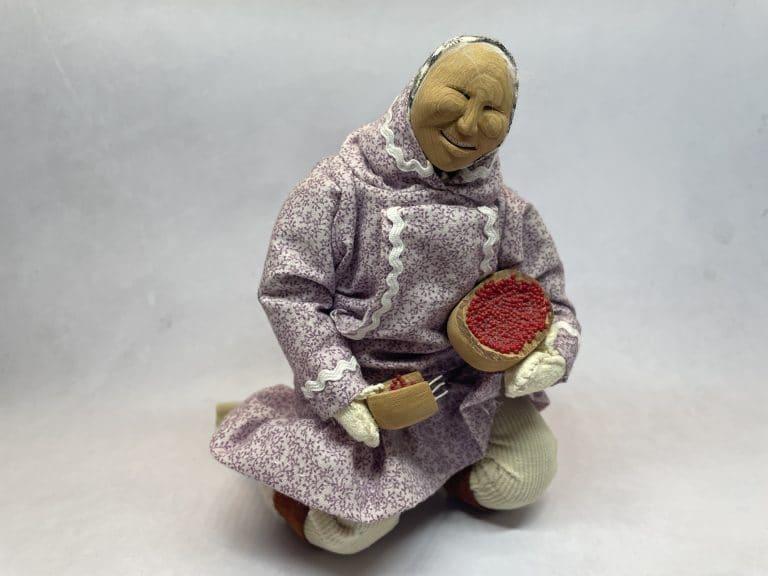 shelly chamberlain berry picker alaskan doll
