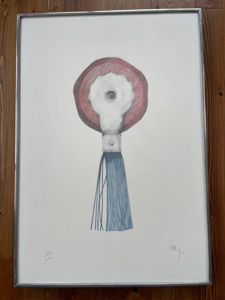 claes oldenburg eraser pop art print