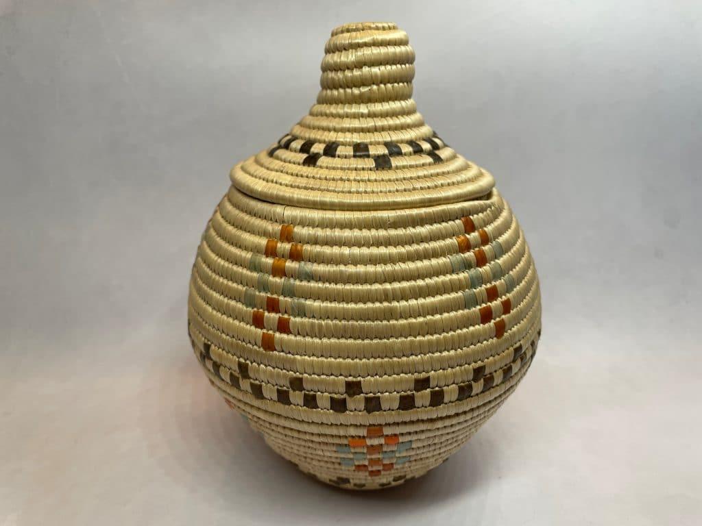 alaskan woven basket