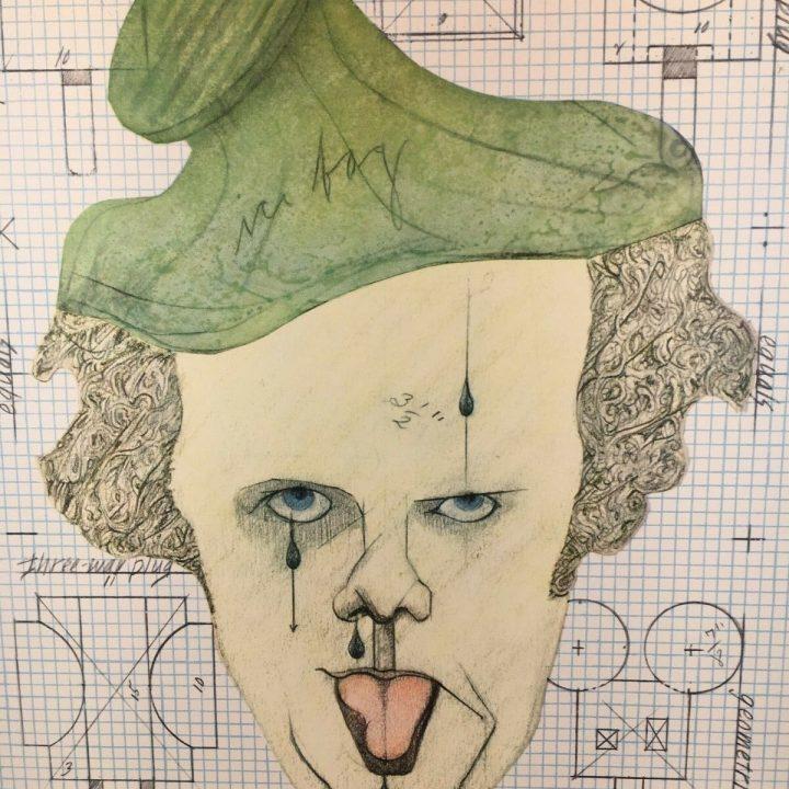 claes oldenburg self portrait equals art print