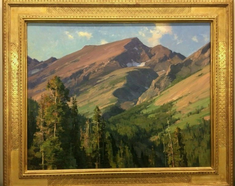 clyde aspevig original landscape oil painting