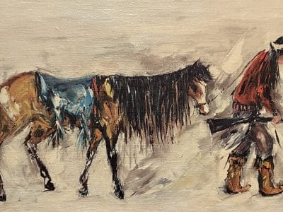 ettore ted degrazia native american painting