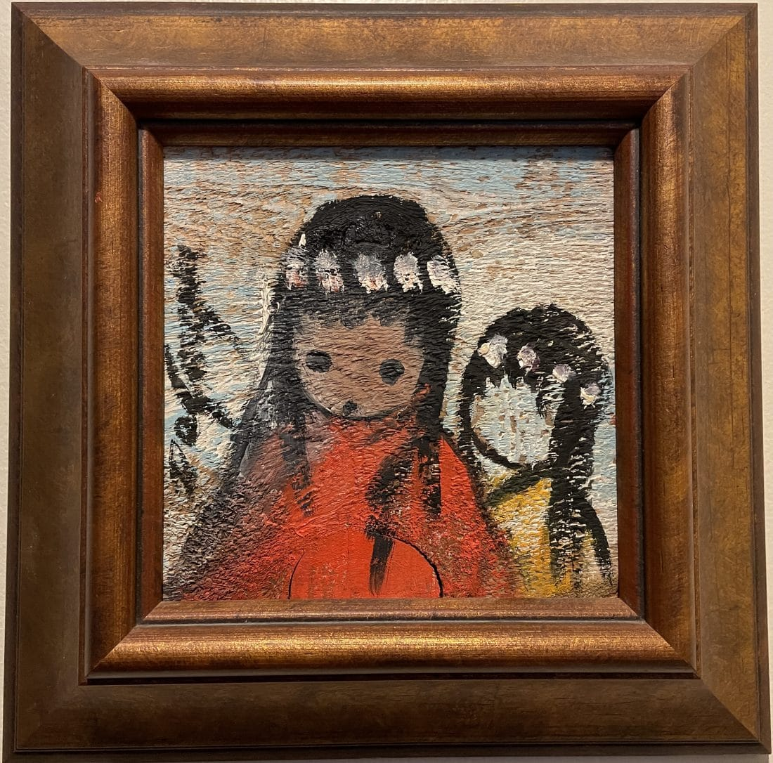 ettore ted degrazia native american girls painting