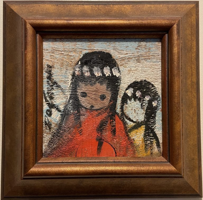 ettore ted degrazia native american girls painting