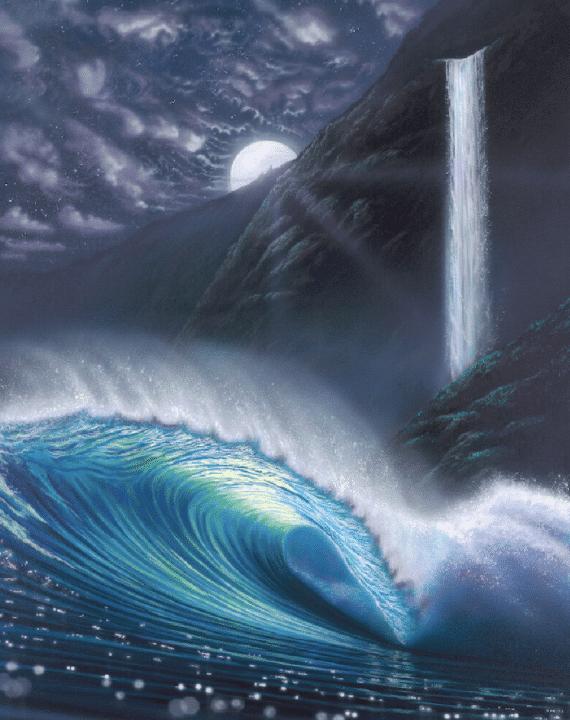 hilton-alves-hidden-falls-night-wave-print