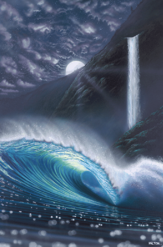hilton-alves-hidden-falls-night-wave-print