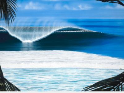 hilton alves perfect time giclee print waves hawaii