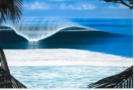 hilton alves perfect time giclee print waves hawaii