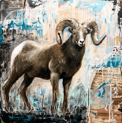 shawn-mackey-king-of-mountain-ram-art-print