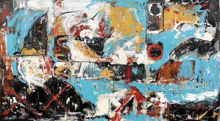 shawn mackey mars array abstract painting