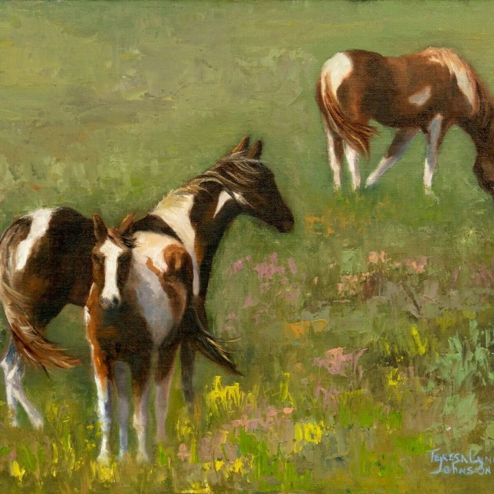 teresa lynn johnson horse painting